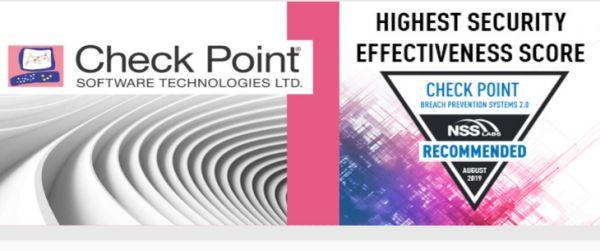Check Point dobio najbolji rezultat bezbednosne efikasnosti u NSS Labs BPS Group Test
