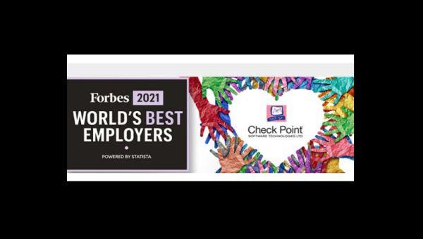 Forbes izabrao Check Point za najboljeg poslodavca u oblasti sajber bezbednosti